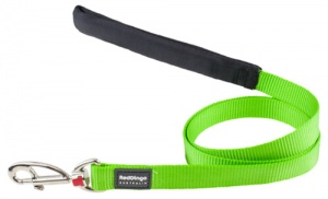 Red Dingo Lime Green Dog Lead