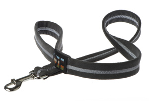 Faux Suede Graphite Grey Dog Lead