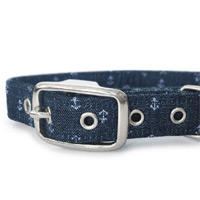 Ship Ahoy Dog Collar