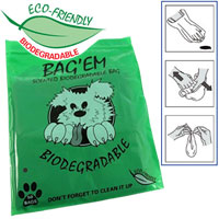 Bag'Em Scented Biodegradable Poop Bags