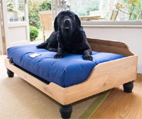 Waterproof Raised Wooden Dog Bed