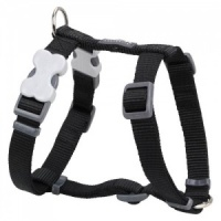 Red Dingo Black Dog Harness