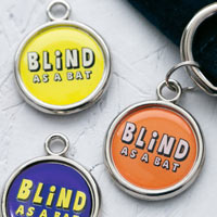 Blind as a Bat Dog Tag