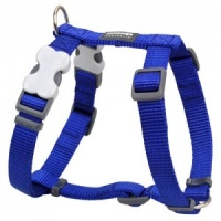Red Dingo Dark Blue Dog Harness