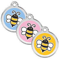 Small Dog ID Tag - Bumble Bee