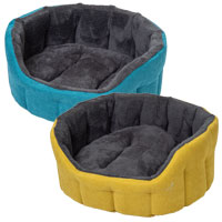 Camden Winter Deluxe Dog Bed