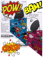 Cartoon Comic Dog Bandana