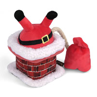 Christmas Dog Toy - Clumsy Claus