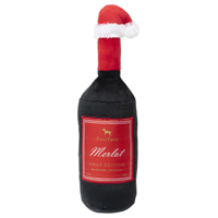 Christmas Merlot Dog Toy