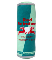 Christmas Red Reindeer Energy Drink