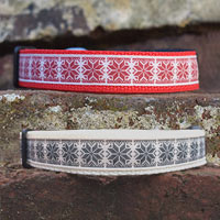 Christmas Jumper Dog Collar
