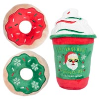 Christmas Puppuccino & Donuts (3 Pack)