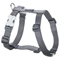 Red Dingo Cool Grey Dog Harness
