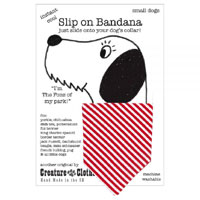 Dog Bandana Candy Stripe