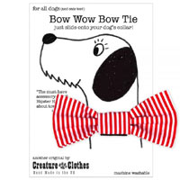Dog Bow Tie - Candy Stripe