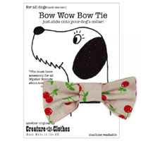Dog Bow Tie - Sweet Cherry