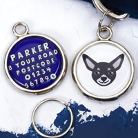 Dog Breed Pet Tag - Chihuahua