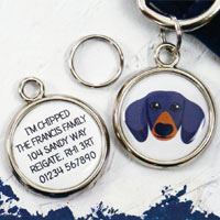Dog Breed Pet Tag - Dachshund