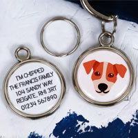 Dog Breed Pet Tag - Jack Russell