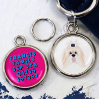 Dog Breed Pet Tag - Shih Tzu