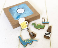 Dog Cookie Gift Box for Boys