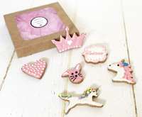 Dog Cookie Gift Box for Girls