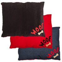 Doza Dog Cushion Woof n Bone