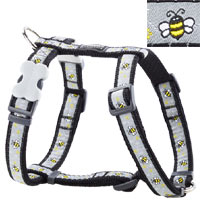 Red Dingo Dog Harness Bumble Bee