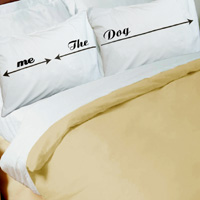 Dog Hogger Pillowcase Set