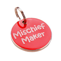 Small Dog ID Tag - Mischief Maker