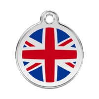 Small Dog ID Tag - Union Jack