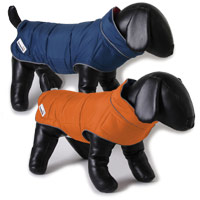 Reversible Puffer Dog Jacket