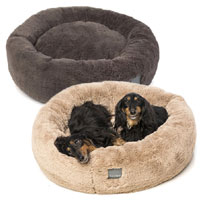 FuzzYard Eskimo Plush Dog Bed