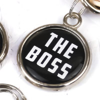 Funny Pet Tag - The Boss
