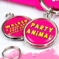 Funny Pet Tag - Party Animal