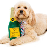 FuzzYard Dog Toy - Champagne