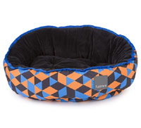 FuzzYard Reversible Dog Bed - Amsterdam