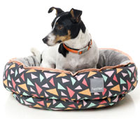 FuzzYard Reversible Dog Bed - Rad