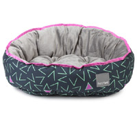FuzzYard Reversible Dog Bed - Voltage