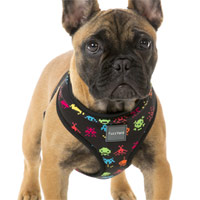 FuzzYard Dog Harness - Space Raiders