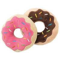 FuzzYard Dog Toy - Donuts