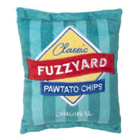 FuzzYard Dog Toy - Pawtato Chips