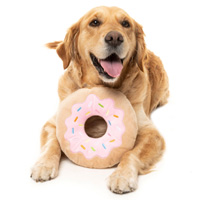 FuzzYard Dog Toy - Giant Donut