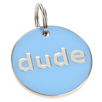 Dog ID Tag - Dude