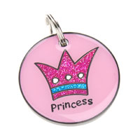 Small Dog ID Tag - Princess