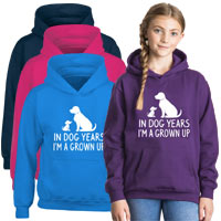 Kids Hoodie - Grown Up