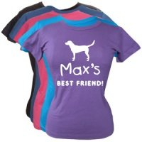 Women's Personalised T-Shirt - Best Friend