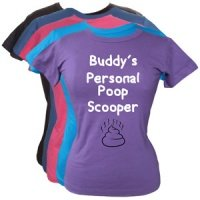 Women's Personalised T-Shirt - Personal Poop Scooper