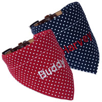 Luxury Personalised Dog Bandana