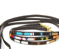 Masai Beaded Dog Lead